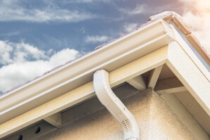 Gutter installation in Powell